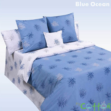 Постельное белье Blue Ocean (Голубой Океан) Валенсия (Valensia) COTTON DREAMS