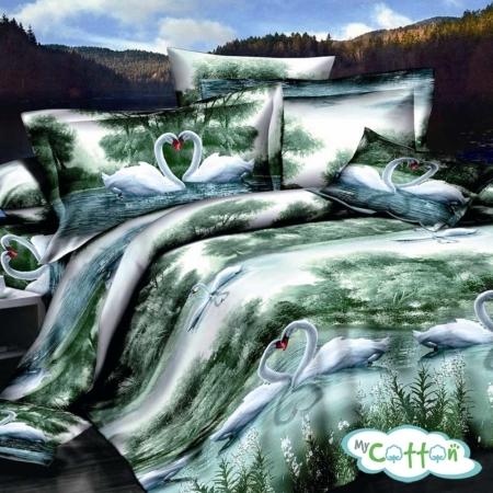 Постельное белье Sailid (Сайлид) Сатин фотопечать G-85