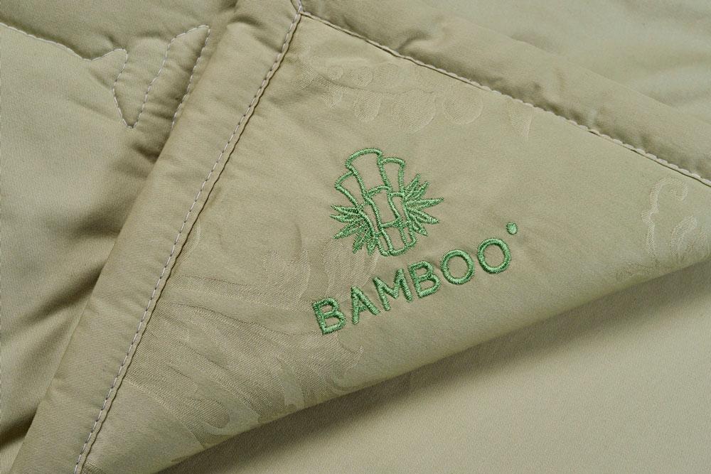 Вышивка на канте одеяло САМСОН Bamboo (Бамбук) купить в Москве