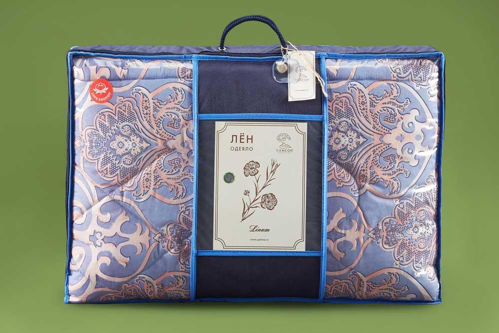 Образец упаковки одеяло САМСОН (SAMSON) Лен купить в Москве