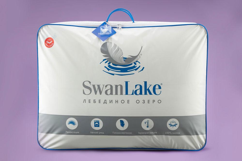 Образец упаковки одеяло САМСОН SwanLake (Лебяжий пух) купить в Москве