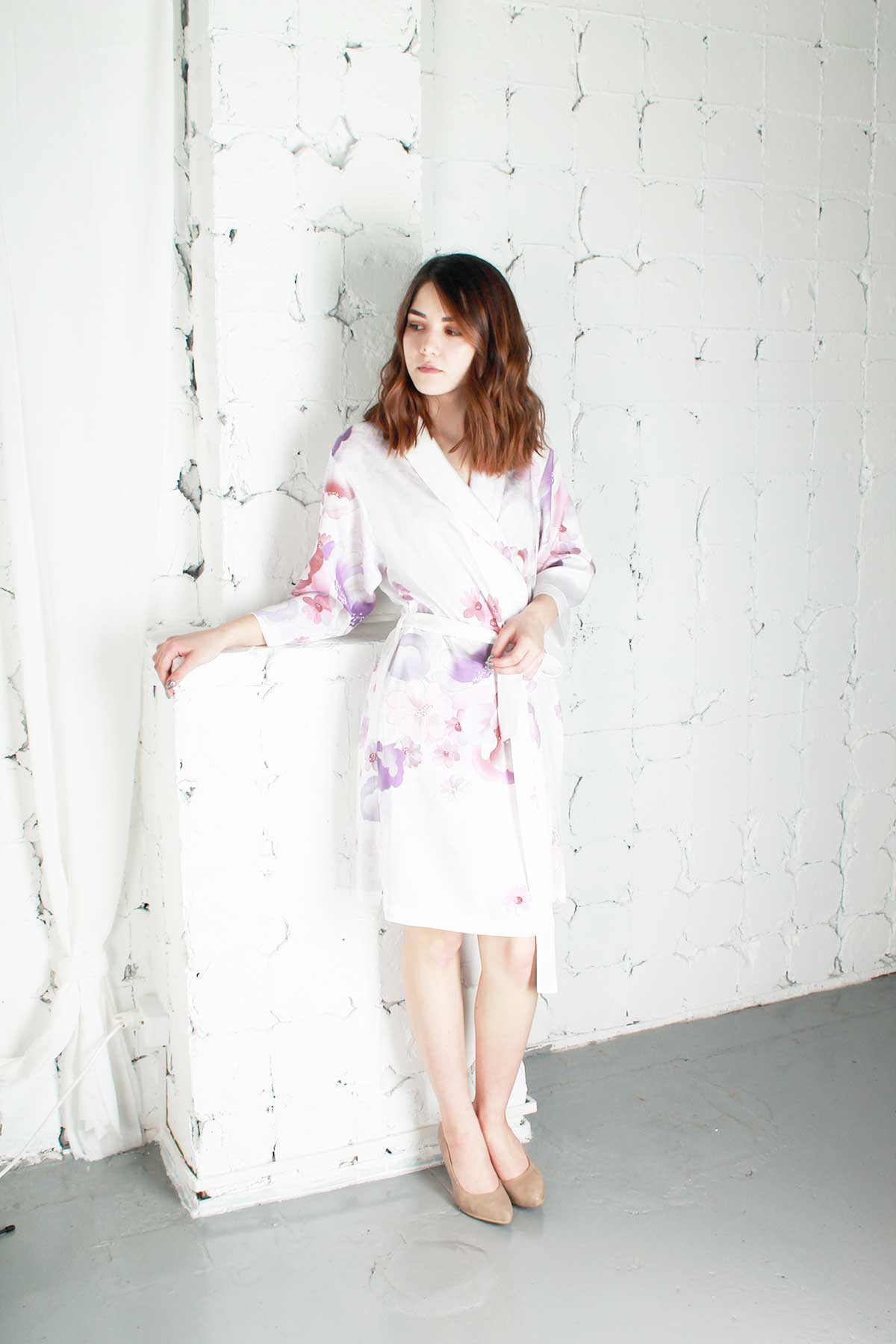 Купить халат из тенселя Danae миди