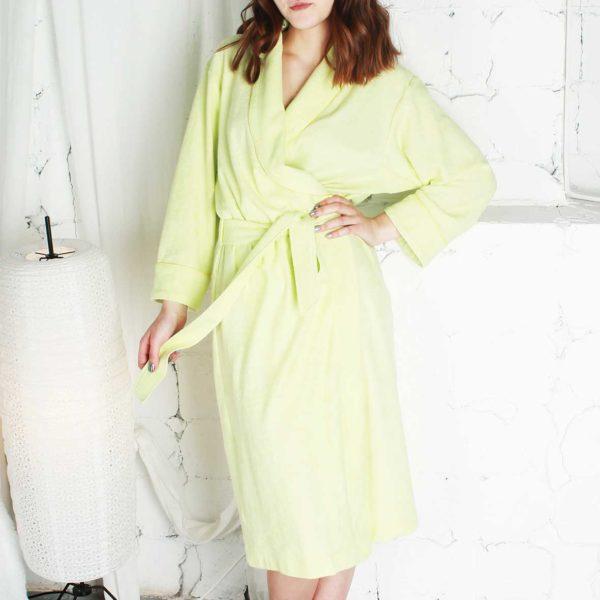 Купить халат хлопковый трикотажный макси от компании Cotton Dreams в интернет-магазине Mycotton.ru и другую продукцию компании COTTON DREAMS