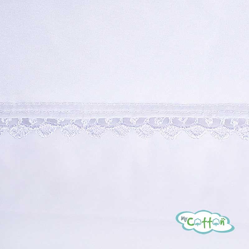 Подушка пуховая Nature`s (Натурес) «Идеальное приданое» декорированная кружевом