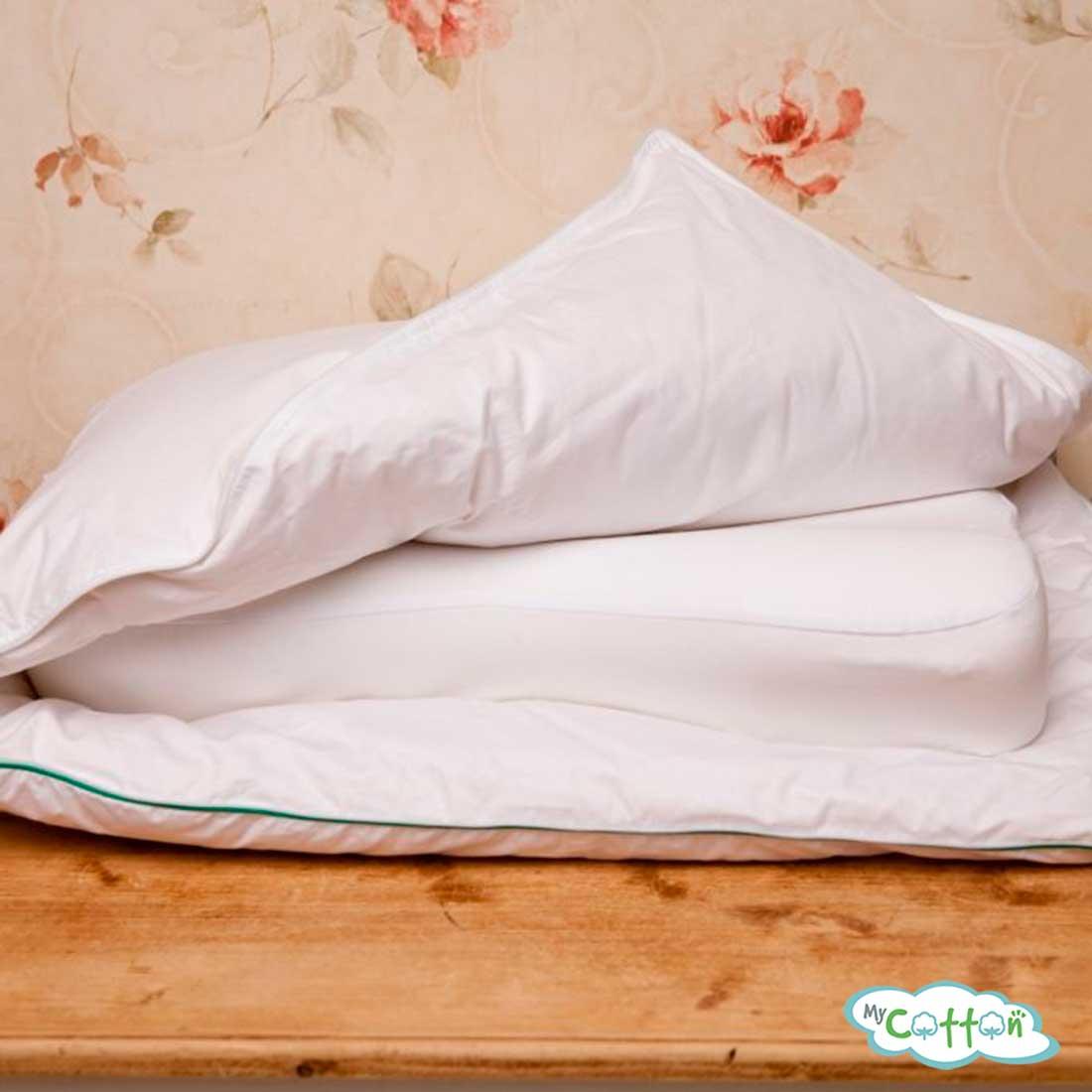 Подушка с анатомическим эффектом Nature`s (Натурес) «Заботливый сон» упругая