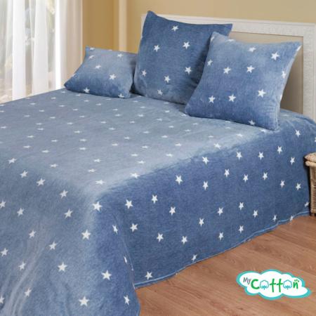 Плед Stars (Старс) велсофт от компании Cotton Dreams