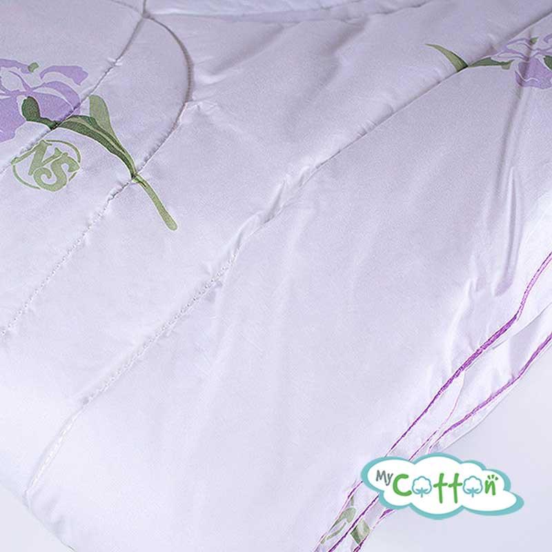 """Одеяло шёлковое Nature`s (Натурес) """"Радужный ирис"""""""