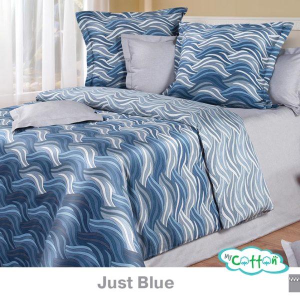 Купить постельное белье Just Blue (Джаст Блу) коллекции Премиата (Premiata) в интернет-магазине Mycotton.ru и другую продукцию COTTON DREAMS