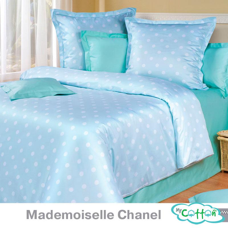 Купить постельное белье Mademoiselle Chanel (Мадмоазель Шанель) коллекции Премиата (Premiata) в интернет-магазине Mycotton.ru и другую продукцию компании COTTON DREAMS