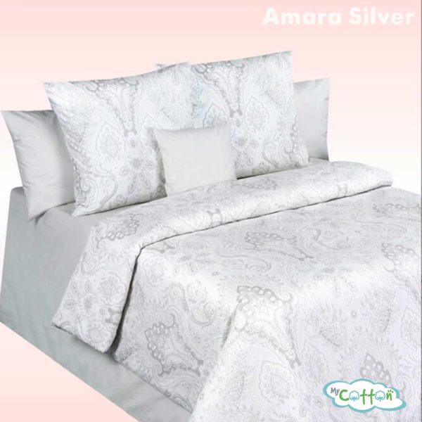 Постельное белье Amara Silver (Амара Сильвер) коллекцияВаленсия (Valencia)