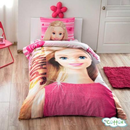 Детский комплект постельного для девочки TAC (Тач) BARBIE SPARKLE