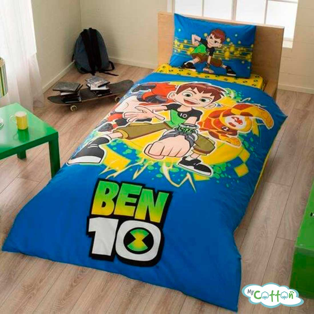 Детский комплект постельного TAC (Тач) BEN10