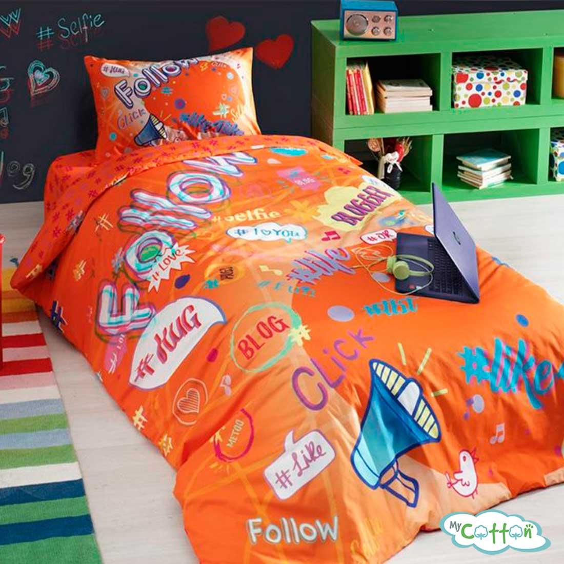 Детский комплект постельного TAC (Тач)BLOGGER