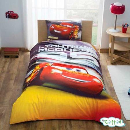 Детский комплект постельного TAC (Тач) DISNEY CARS LIGHTNING