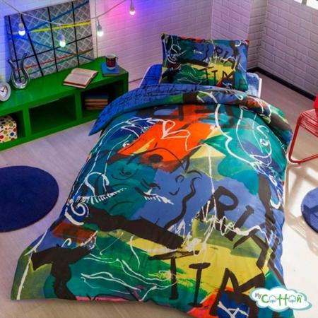 Комплект постельного белья TAC, GRAFFITIFACE