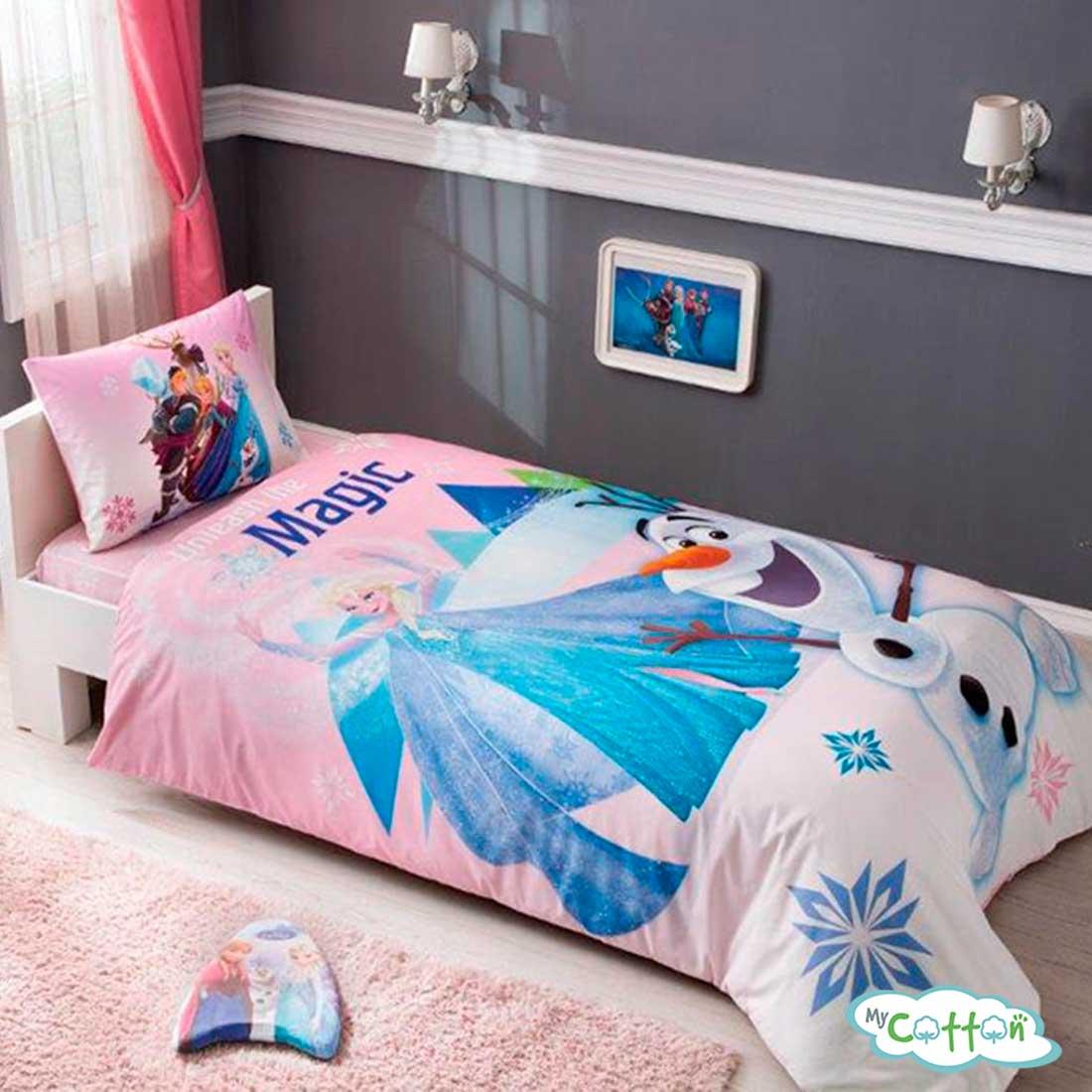 Детский комплект постельного TAC (Тач)FROZEN PINK