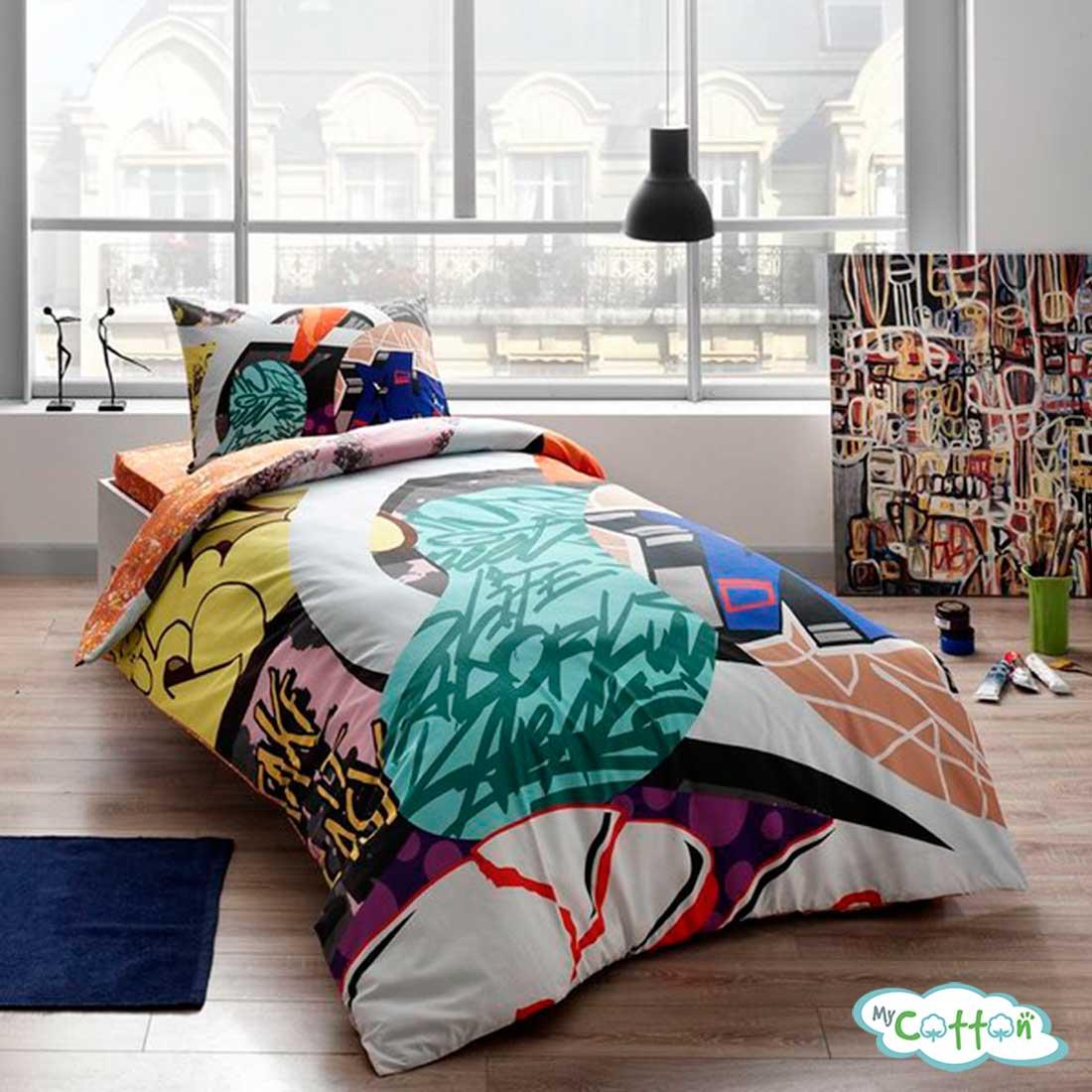 Комплект постельного белья TAC, GRAFFITI EASY