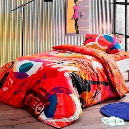 Комплект постельного белья TAC, GRAFFITI PLAYER