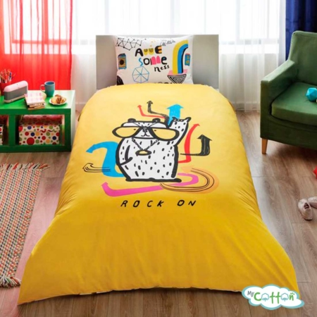 Детский комплект постельного TAC (Тач)HALLMARK ROCK ON