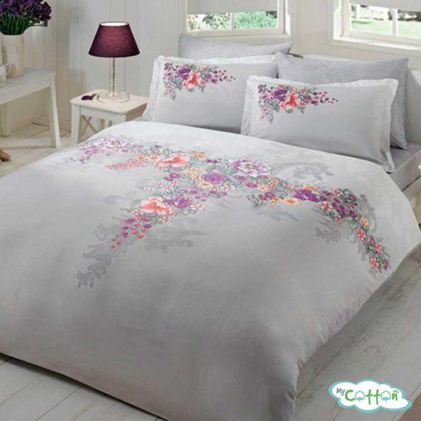 Комплект постельного белья TAC,LONA серый