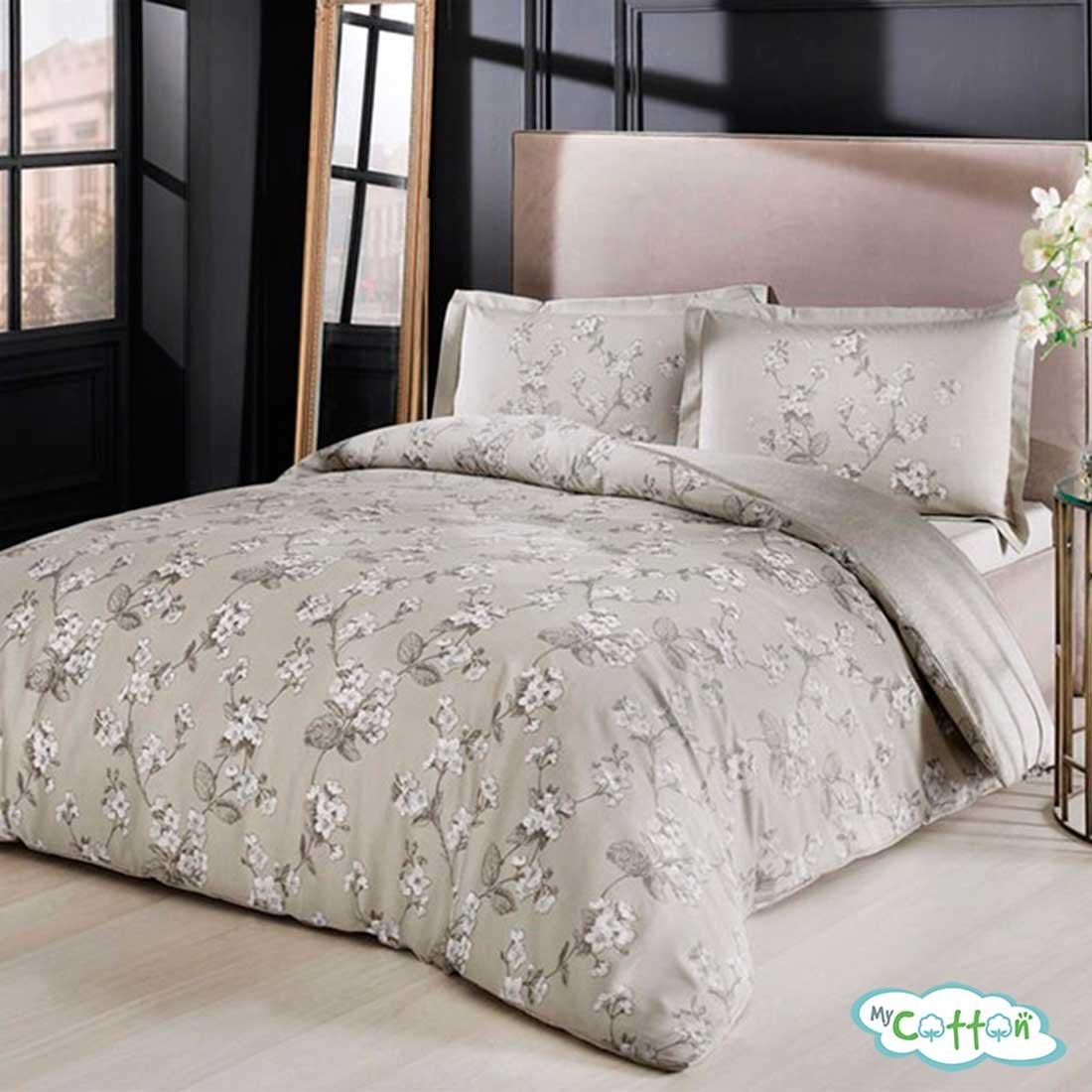 Комплект постельного белья TAC,Lennie серый