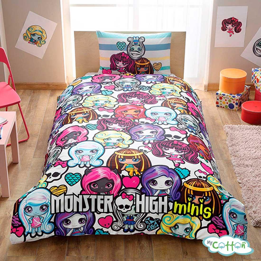 Детский комплект постельного TAC (Тач)MONSTER HIGH MINI