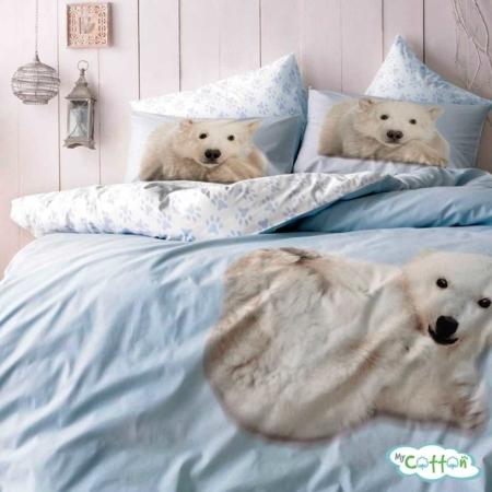 Комплект постельного белья TAC,NEVRESIM TAKIMI BEAR