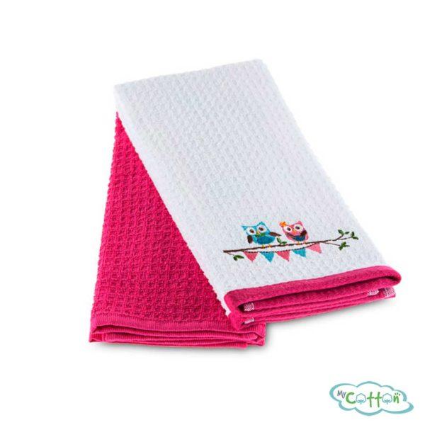 Кухонное вафельное полотенце TACOWLS