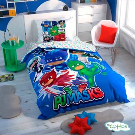 Детский комплект постельного TAC (Тач)PJ MASKS HERO