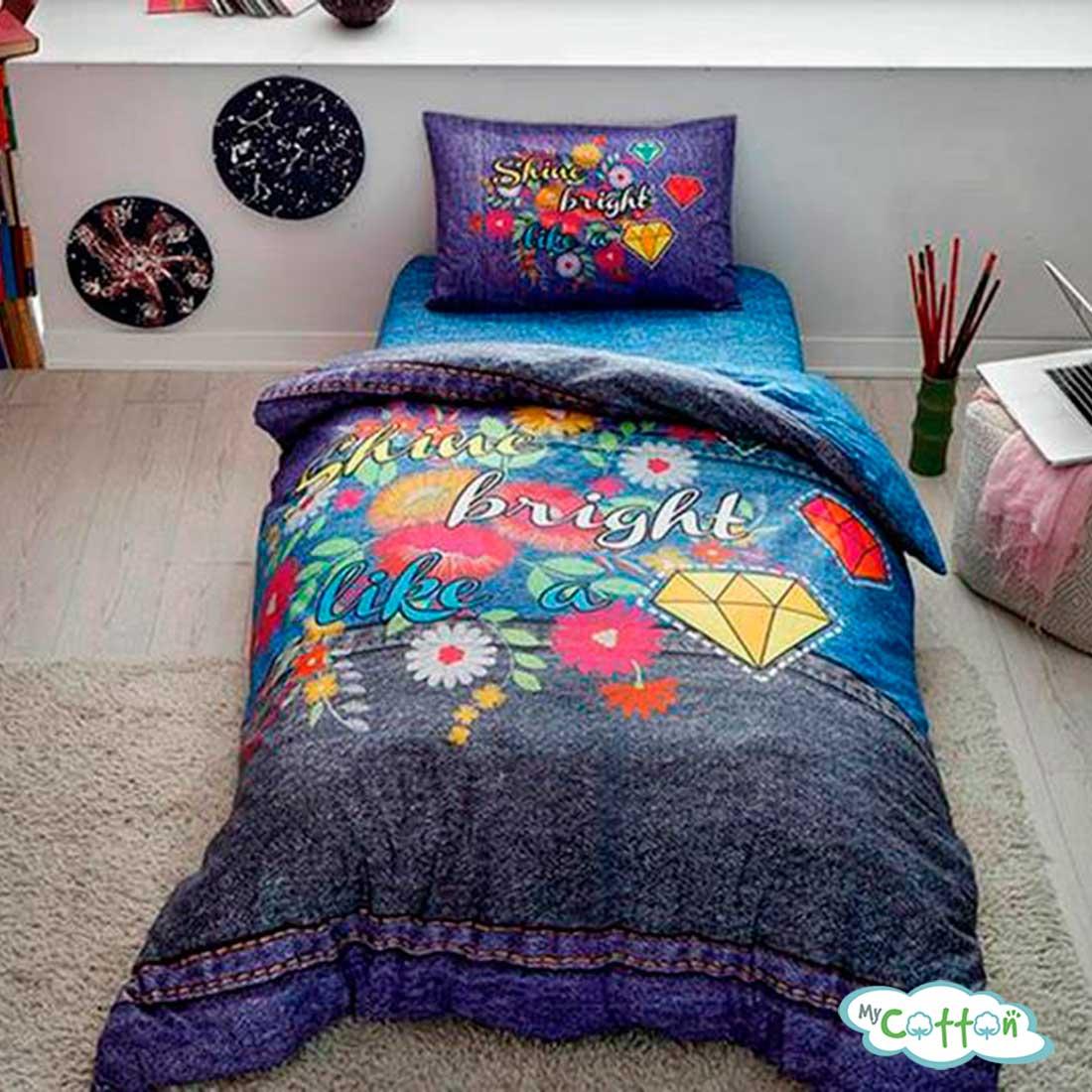 Детский комплект постельного белья TAC,SHINE