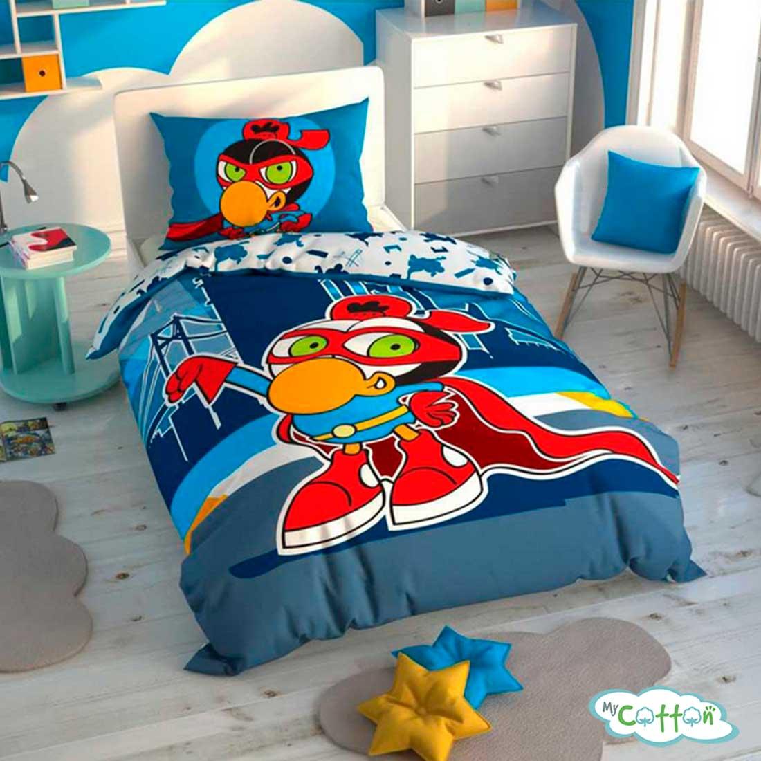 Детский комплект постельного TAC (Тач)SIZINKILER ZEYTIN