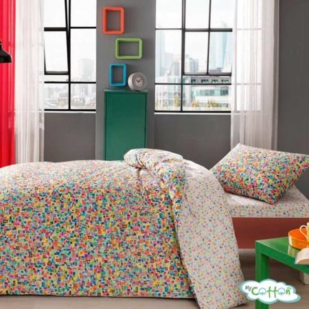 Комплект постельного белья TAC, GRAFFITI SKULL