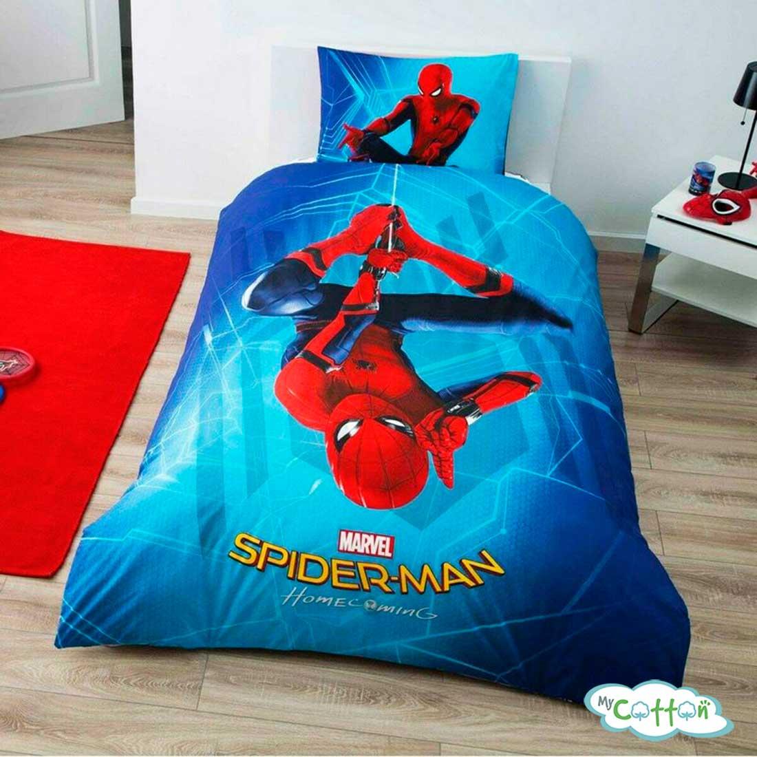 Детский комплект постельного TAC (Тач)SPIDERMAN HOMECOMING
