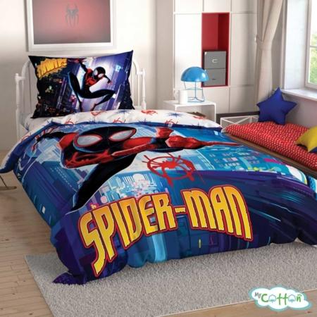 Детский комплект постельного TAC (Тач) SPIDERMAN INTO SPIDERV