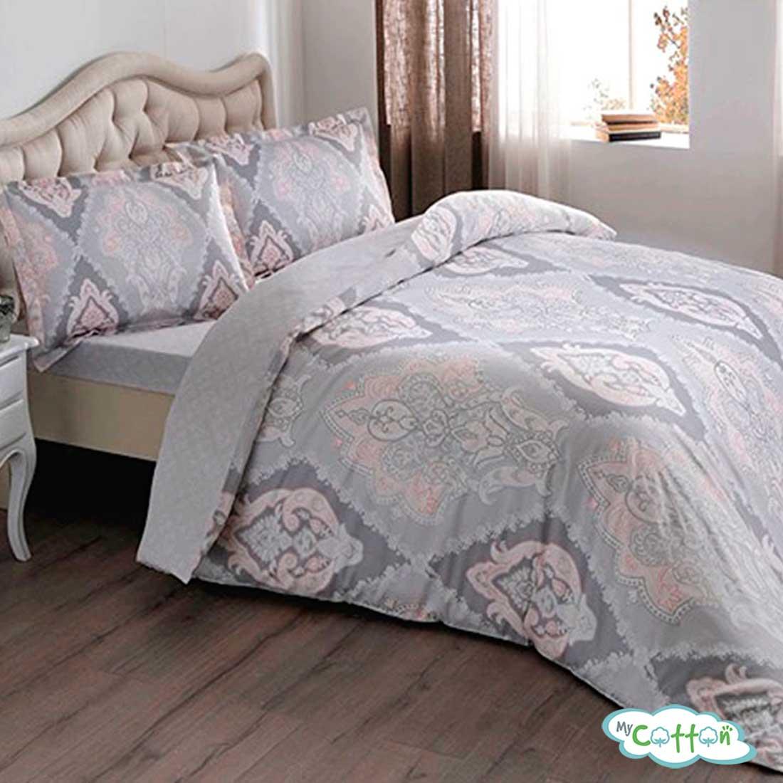 Комплект постельного белья TAC,Vales розовый