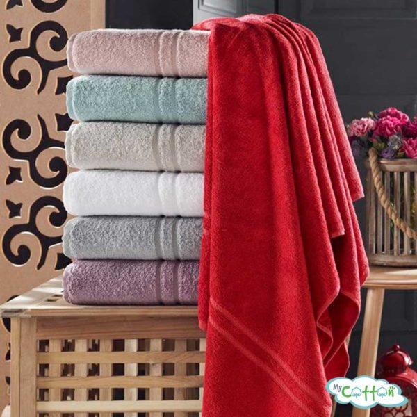 Полотенце махровое TAC цвет бирюзовый