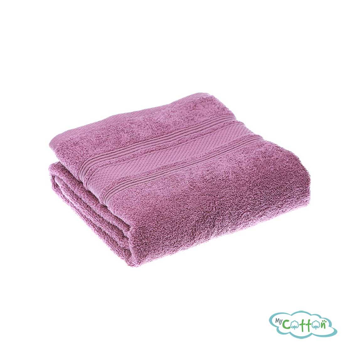 Полотенце махровое TAC цветфиолетовый