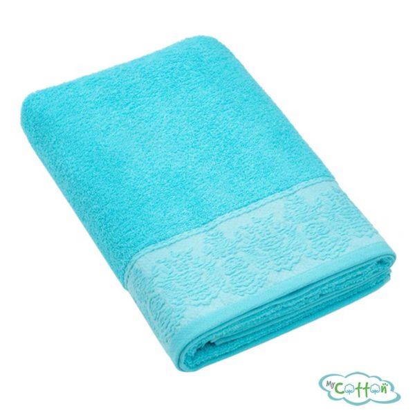 Полотенце махровое BRIELLE цвет голубой