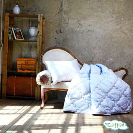 Одеяло стеганое Nature`s (Натурес) «Хлопковая нега» легкое