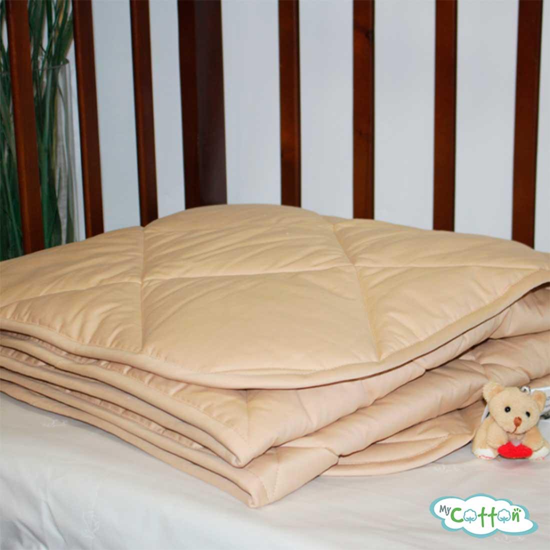 Одеяло стеганое Nature`s (Натурес) «Кораблик пустыни» всесезонное с пухом верблюда
