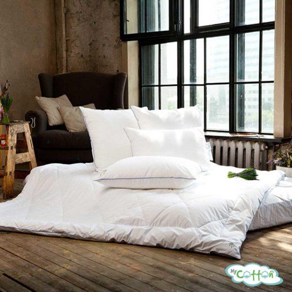 Одеяло стеганое Nature`s (Натурес) «Лаванда антистресс» всесезонное с бамбуковым волокном