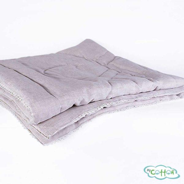 Одеяло стеганое Nature`s (Натурес) «Дивный лён» легкое с хлопковым волокном