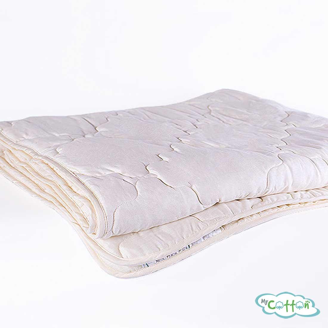 Одеяло стеганое Nature`s (Натурес) «Золотой мерино» всесезонное, с овечьей шерстью