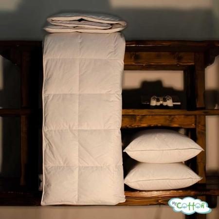 Одеяло стеганое пуховое Nature`s (Натурес) «Ночной патруль» теплое
