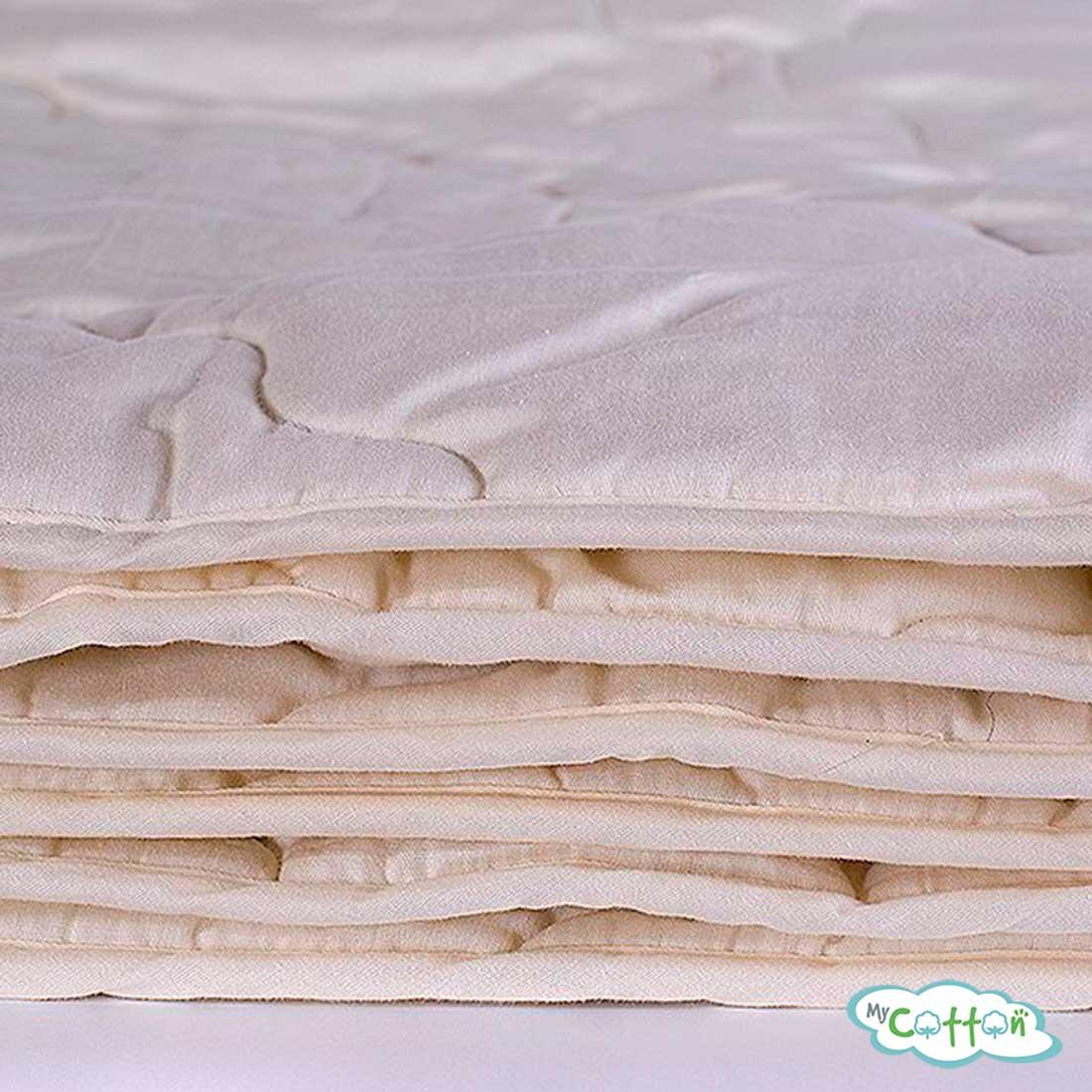 Одеяло стеганое Nature`s (Натурес) «Ночной патруль» всесезонное, с овечьей шерстью