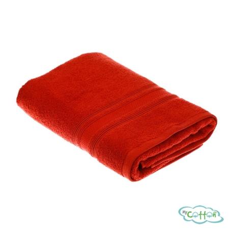 Полотенце махровое TAC цветтерракотовый