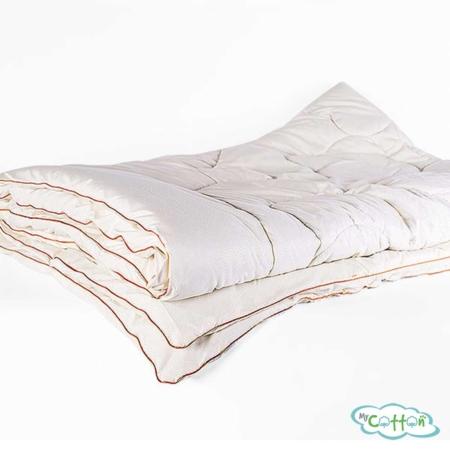 Одеяло стеганое Nature`s (Натурес) «Шерстяной завиток» всесезонное, с овечьей шерстью