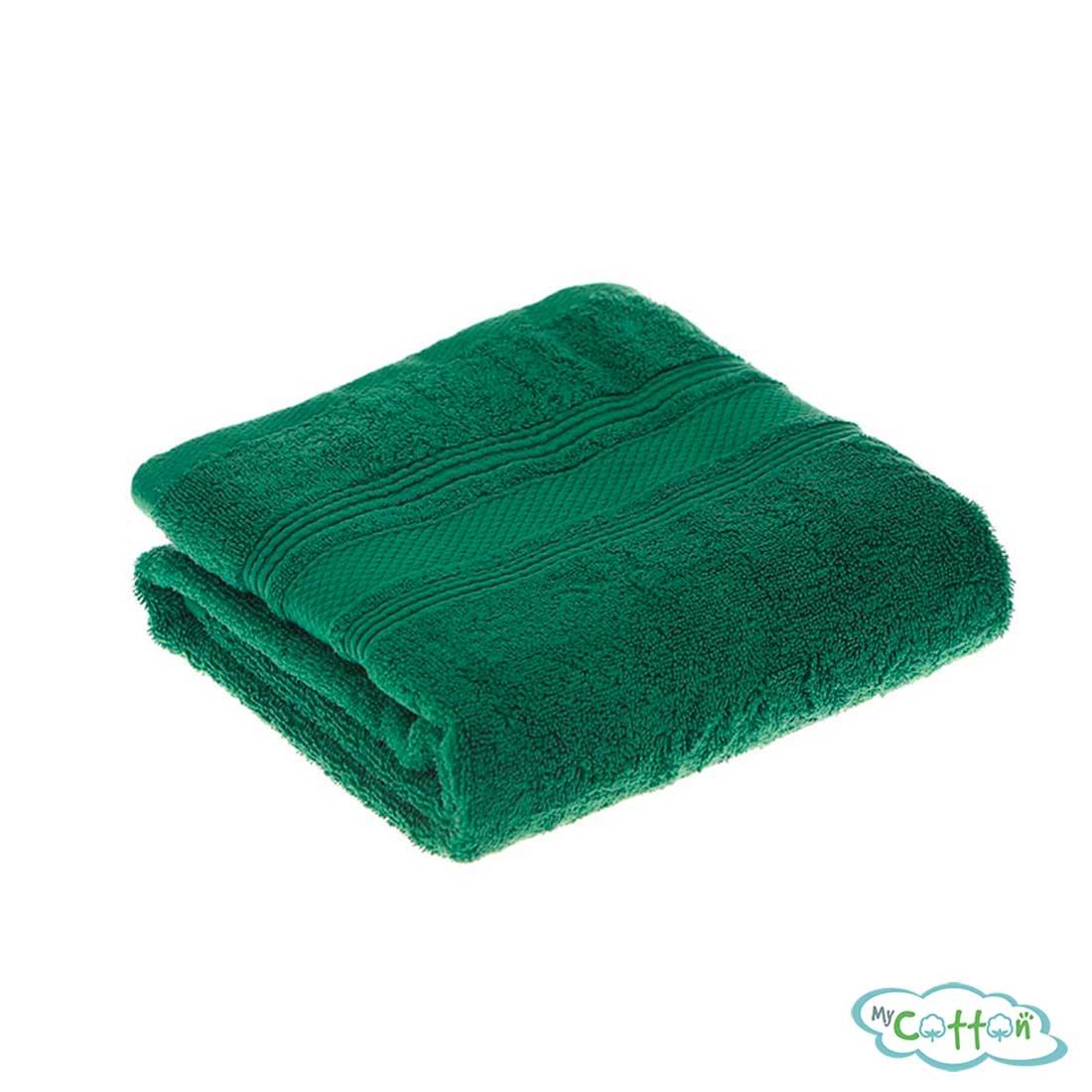 Полотенце махровое TAC цветзелёный