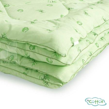 """Одеяло стеганое """"Бамбук"""" от компании Легкие сны, теплое"""