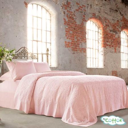 "Покрывало в наборе розовое ""Baroc"" от Tivolyo Home"